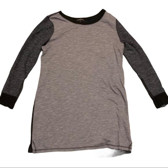 Banana Republic Gray Boatneck Shirt Mens XL